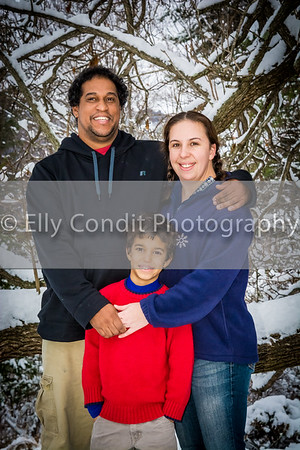 Danny, Reese, Logan and Lilly Family  2014