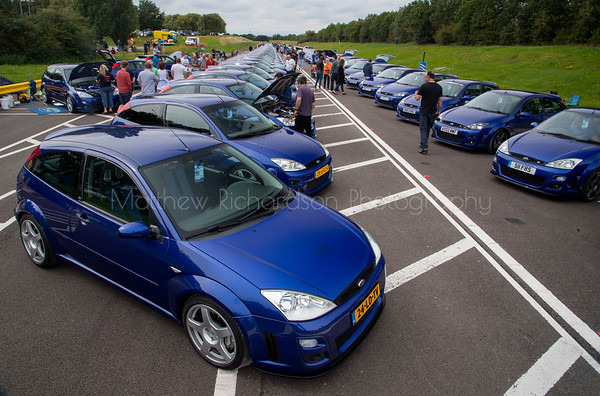 Focus RS mk1 Anniversary meet