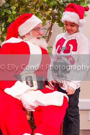 Kiwanis Breakfast with Santa 2014