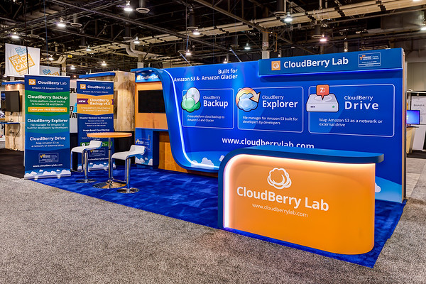 CloudBerry Lab at AWS vegas 2015