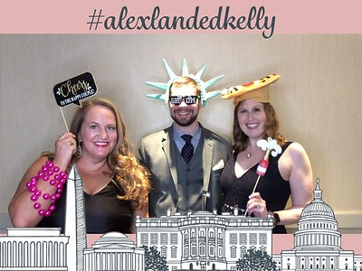 Alex and Kelly's Wedding Photo Booth