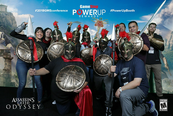 PowerUP Rewards Photo Booth