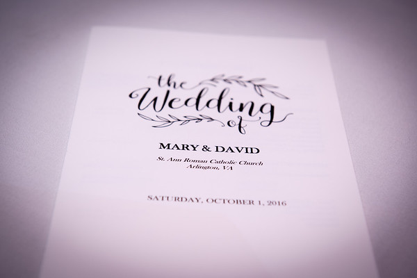 Mary and David Giger's Wedding day