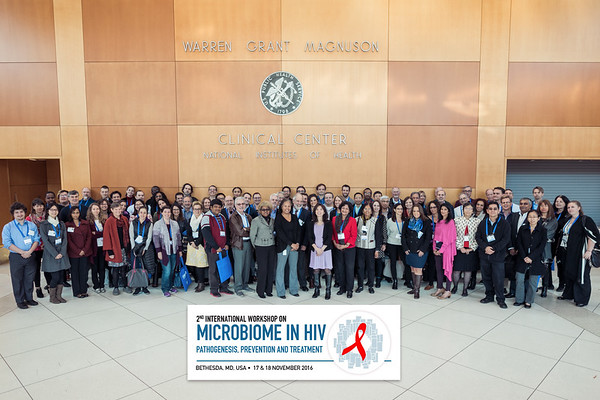 2nd International Workshop on Microbiome in HIV Group Shot