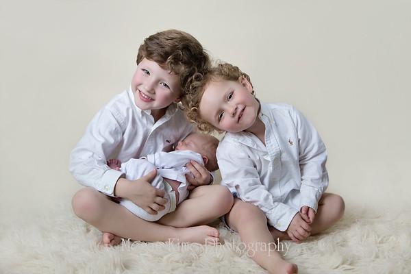 Shepherd newborn portraits