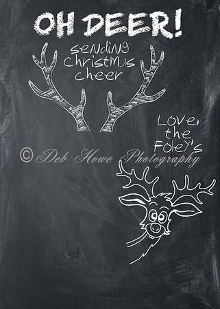 5x7 Photo Card - Oh Deer