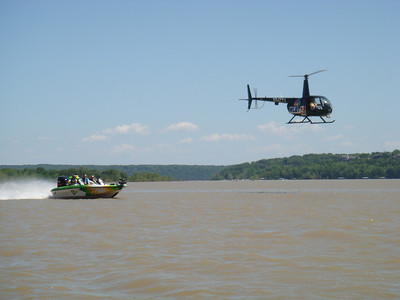 FISHING TOURNAMENT. HELICOPTER SHOOTING THE BP SPONSORED BOAT