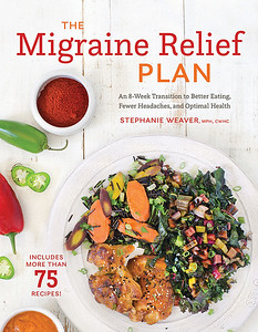 cover for The Migraine Relief Plan cookbook