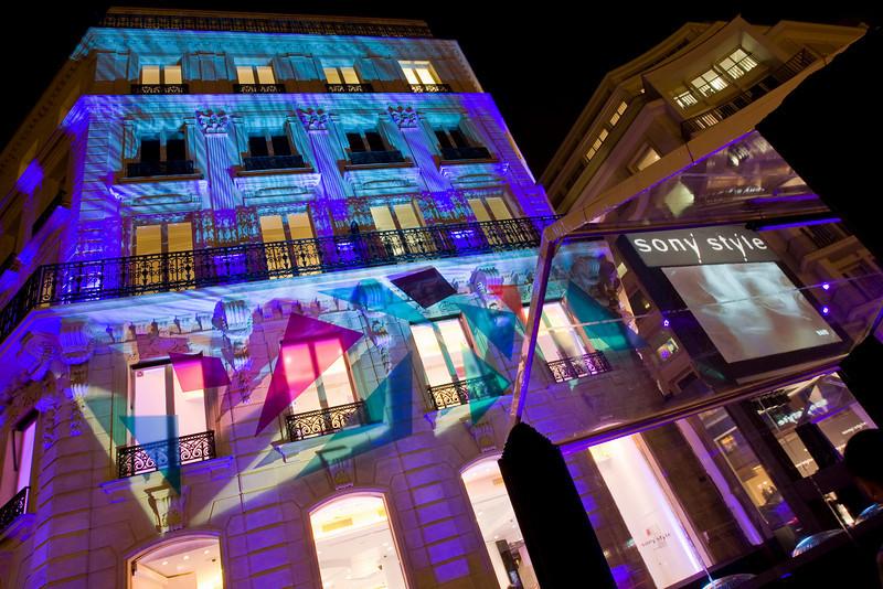 Inauguration boutique SONY - Paris - Novembre 2008