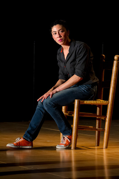 Un spectacle de la compagnie MMM… interprétation Marie-Magdeleine Sommier à l'auditorium Ravel de Saint-Jean-de-Luz.