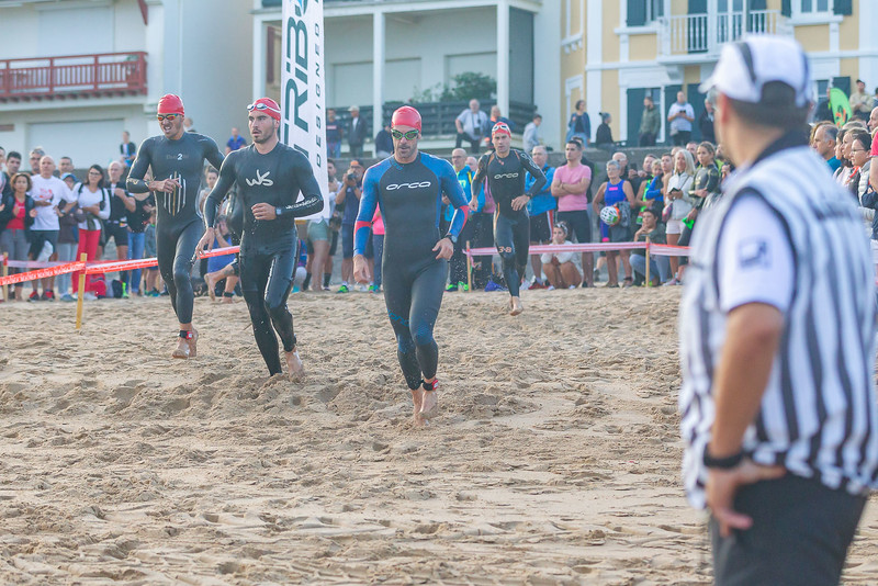 Le club URKIROLAK TRIATHLON de Saint-Jean-de-Luz organise une compétition sur une journée avec 3 formats de triathlon : Sprint (S), Olympique (M) et Half,.Ss