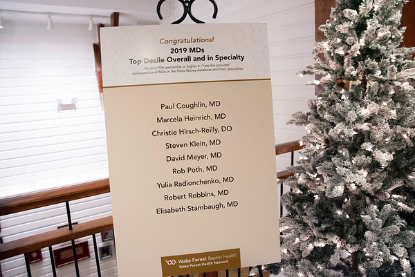 20191202 Wake Forest Health Holiday Provider Event 009Ed