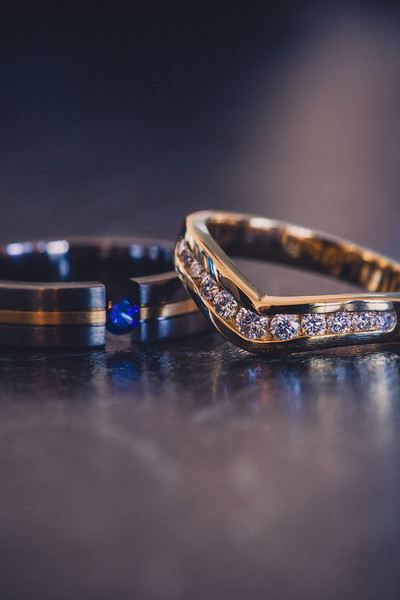 His and hers...Gold and Silver