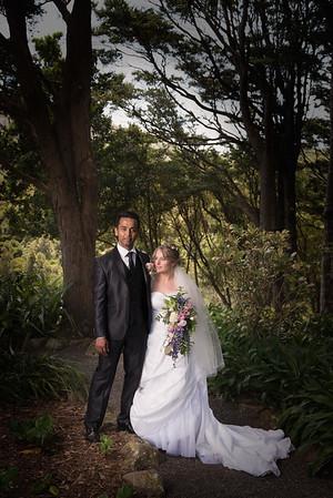 Anna and Mithun Wedding at Otari Wilton Bush
