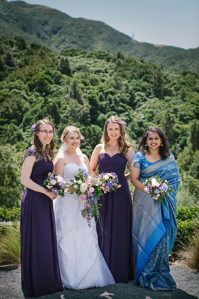 Anna and Mithun Wedding at Otari Wilton Bush