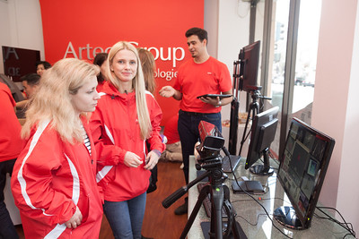 Artec Show Room Opening in Palo Alto Feb. 10, 2014