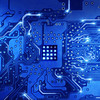 "Pond5 stock video file:010772881-computer-circuit-board-blue-lo_H264_420<br /> <br /> For use in mapping to blue shared meaning square in 3D logo. Note that the center in this clip IS A SQUARE..... and it might be an opportunity to fly a ""blue plate"" from the center of this chip.... back into the totem stack. Maybe for a segment that would deal with technology?"
