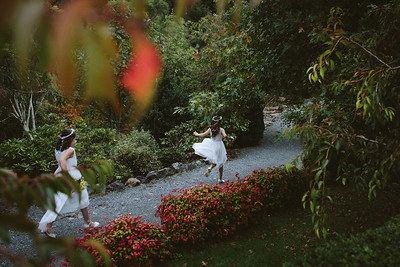 Charlie and Callum - Kaitoke Country Gardens