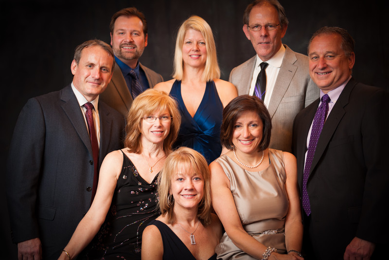 """Attendees at the """"Fur Ball"""", a fundraiser for the Humane Society of Livingston County, Michigan."""