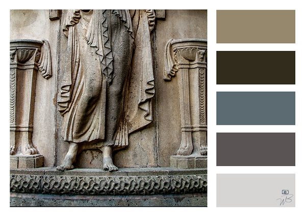 Fine Art Photograph Neutral Color Palette-- Palace of Fine Arts