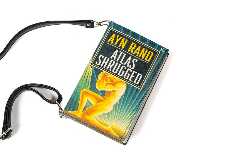Atlas Shrugged Purse Small