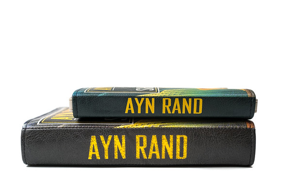Atlas Shrugged Purse Small and Large