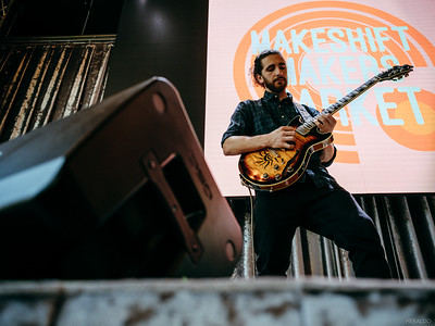 Dante Marsh performs at SLO Brew Rock during the Makeshift Makers Market in San Luis Obispo, CA on Sunday, February 10, 2019.