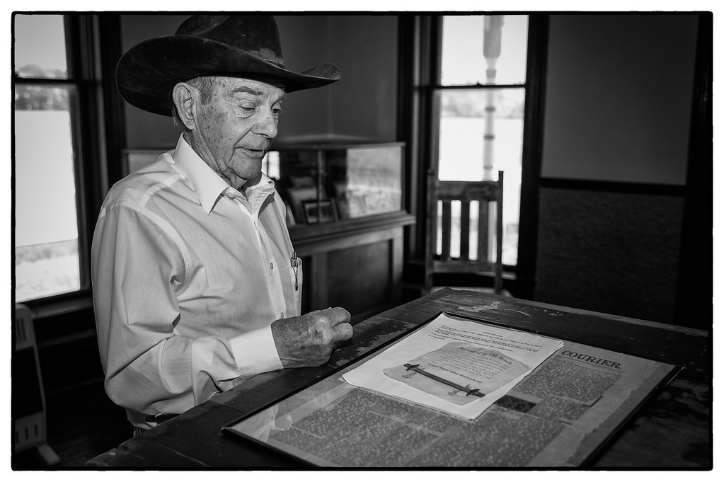 Shaie Williams. Bob Cates interview 86 year old cowboy. Interview at Channing, TX on May 6, 2016.