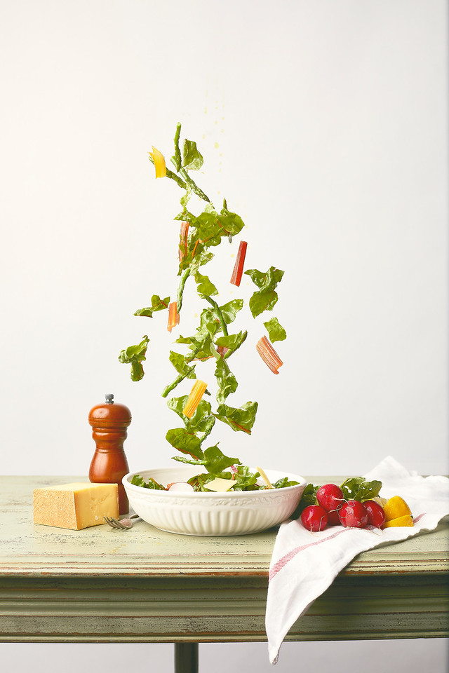 Tossed - Spring Salad for Edible Indy
