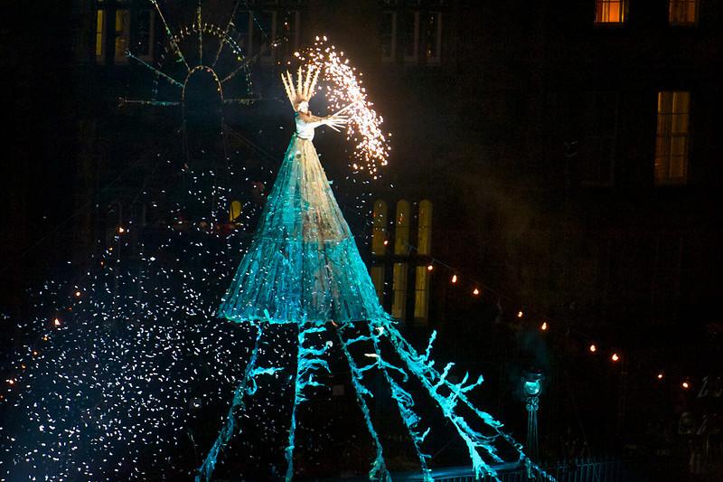 Edinburgh's Christmas, Light night