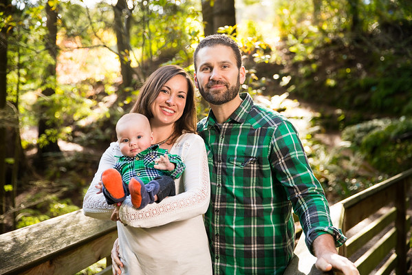 Emma & Ryan McFadden Family Portraits