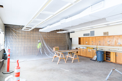 New science classroom wall in McNary High School on Friday, August 16, 2019, in Keizer, Ore.