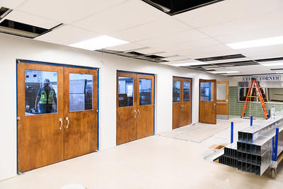 McNary High School cafeteria under construction on Friday, August 16, 2019, in Keizer, Ore.