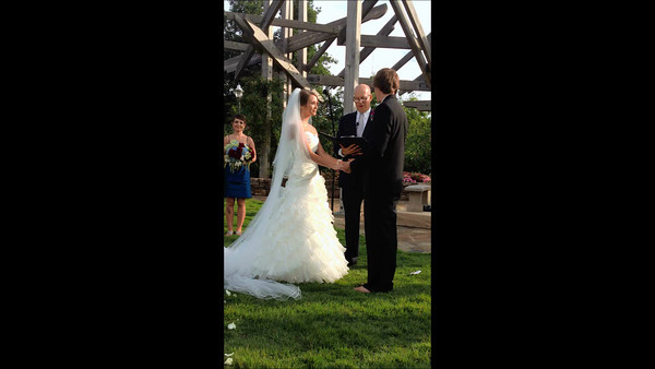 Kelley and Sara Married