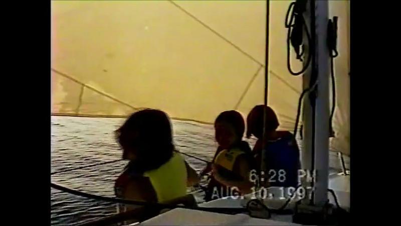 Girls singing Sailing video