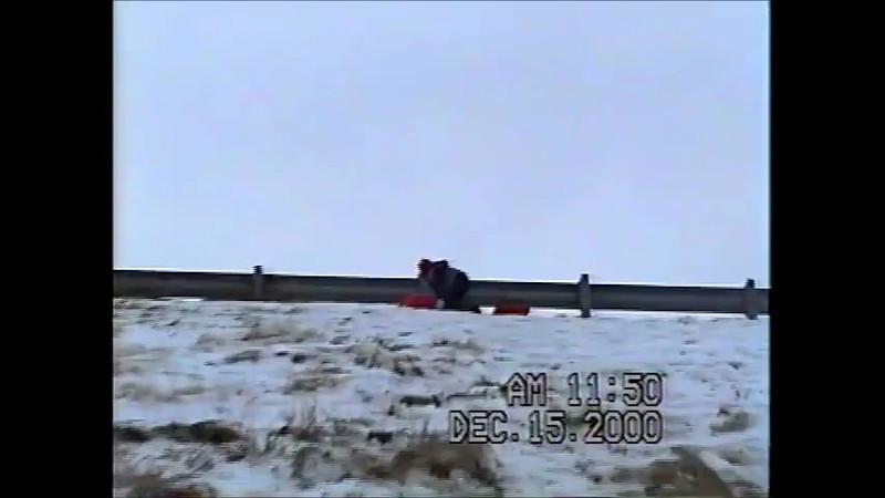 Kelley kids sledding video