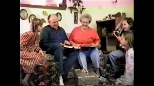 grandkids read book video