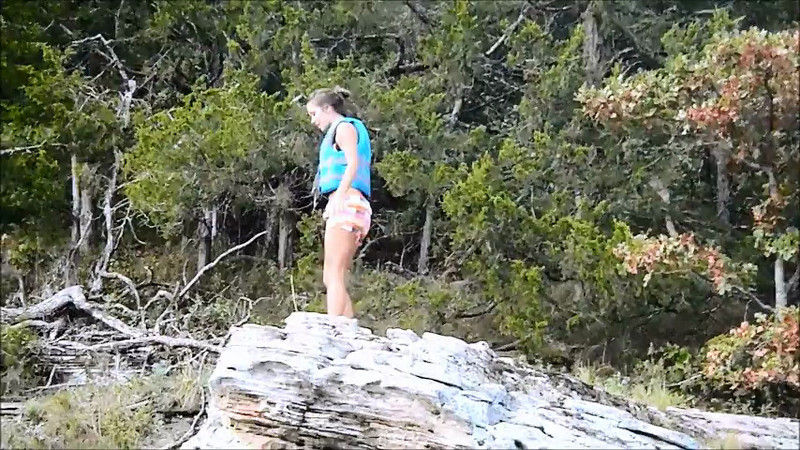 Sara Bluff Jump Video