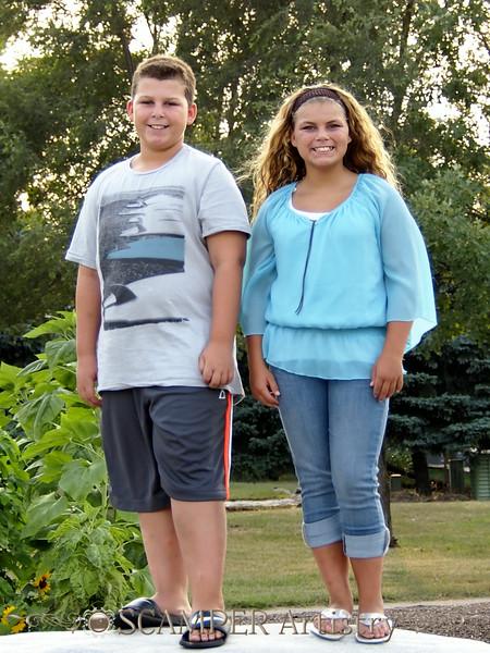 Caroline and Nicolas