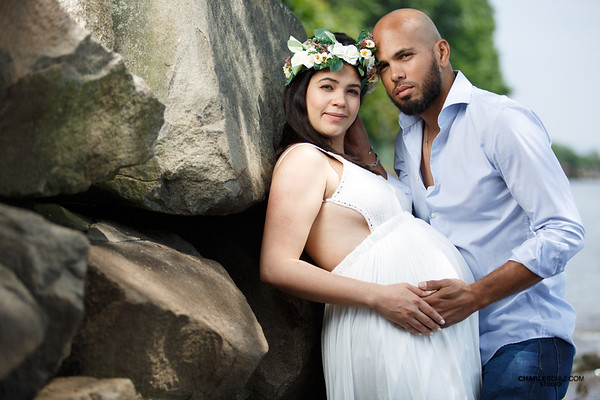 Farleny And Edwin Maternity Session
