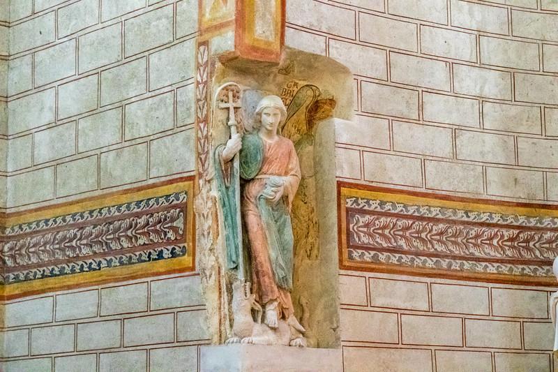 The Abbey of Saint-Savin