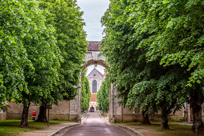 Pontigny Abbey, Burgundy