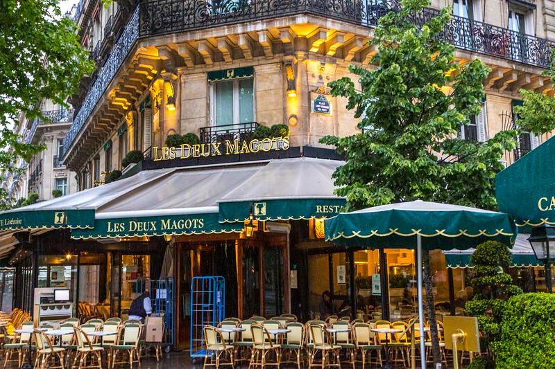 Les Deux Magots-- Paris