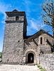La Couvertoirade, Aveyron--Church of Saint Christophe