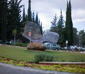 Sculpture on Technion Grounds