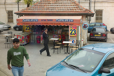 Kiosk on the way to the Old City.