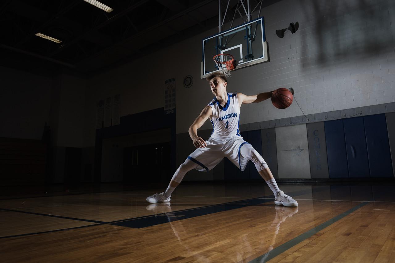 Gunner - senior sports portraits