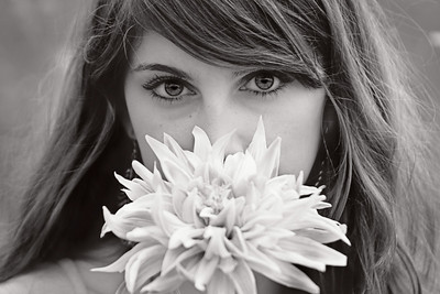 Hayley_FlowerBW