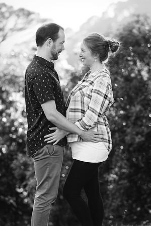 Jakub and Bara - Maternity shoot at The Botanical Gardens
