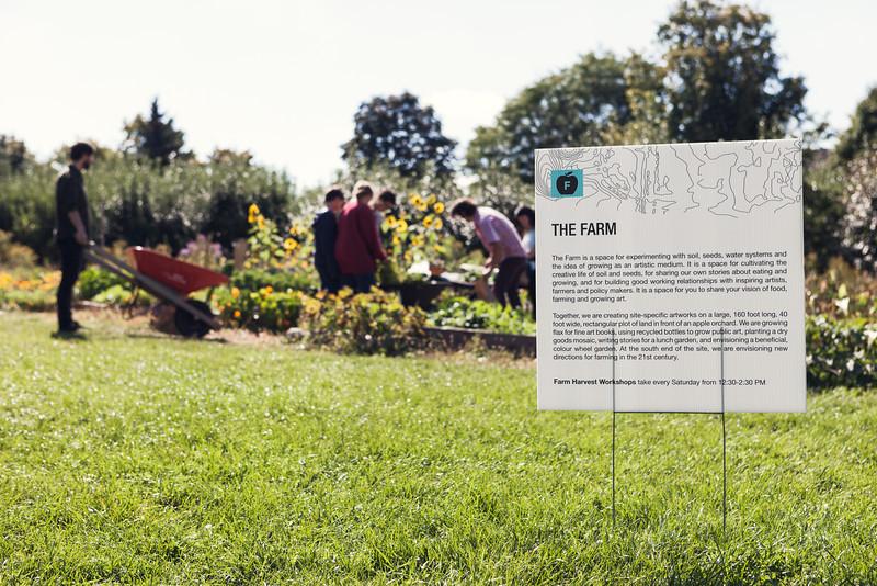 Andrew Bieler, The Farm, 2013. Garden Intervention. Photo: Will Pemulis